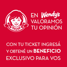 En Wendy's valoramos tu opinion